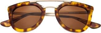 Bertha Ella Tortoise Sunglasses w/ Polarized Lenses