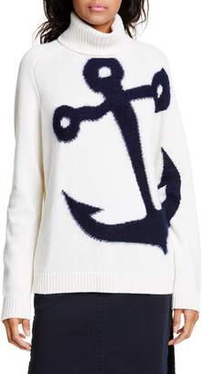 N°21 N21 N?21 Anchor Wool & Mohair Blend Sweater