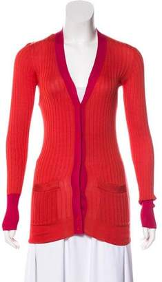 Marc by Marc Jacobs Silk Knit Cardigan