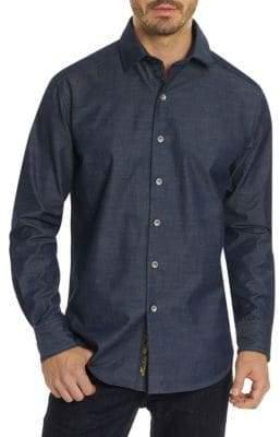 Robert Graham Regular-Fit Button-Down Shirt