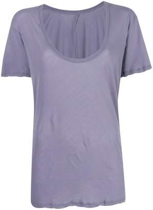 Unravel Project scoop neck T-shirt