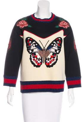 Gucci 2016 Butterfly Sweatshirt