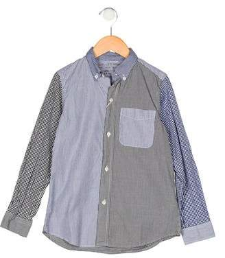 Denim Dungaree Boys' Button-Up Shirt w/ Tags