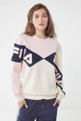 Fila + UO Lidia Crew-Neck Sweatshirt