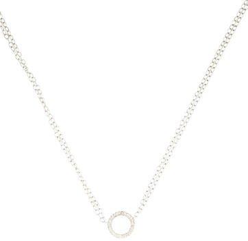 AdinaAdina Reyter Diamond Circle Pendant Necklace