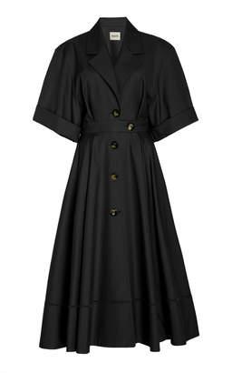 Chloé Khaite A-Line Cotton Dress