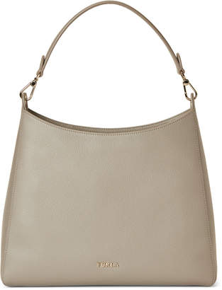 Furla Gisele Leather Medium Hobo