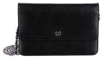 Chanel CC Leather Wallet on Chain
