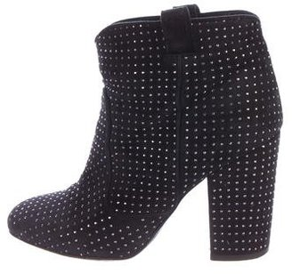 Laurence Dacade Embellished Ankle Boots $230 thestylecure.com
