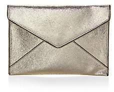 Rebecca Minkoff Women's Leo Cracked Leather Clutch