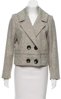 Barbara Bui Tailored Wool-Blend Blazer