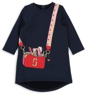 Little Marc Jacobs Baby Girl's& Little Girl's Fleece Trompe L'oeil Dress