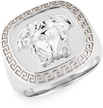 Versace Square Medusa Ring