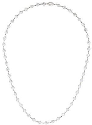 Tiffany & Co. Platinum Diamonds by the Yard Necklace $17,995 thestylecure.com