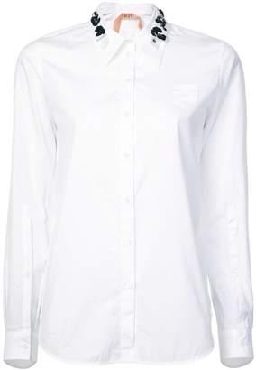 No.21 sequin-embellished shirt