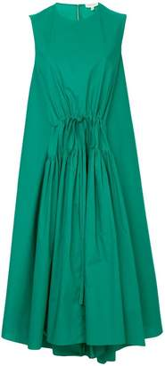 DELPOZO drawstring front dress