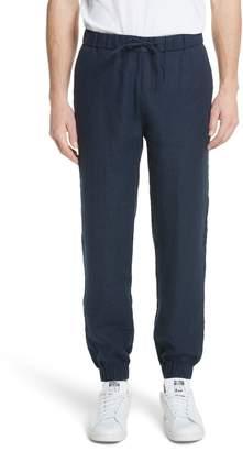 Onia Rick Linen Jogger Pants