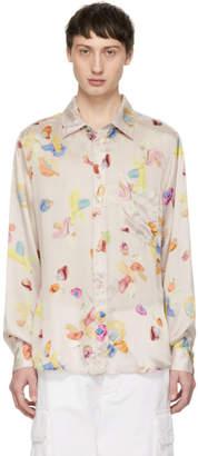 Acne Studios Pink Bla Konst Road Gum Shirt