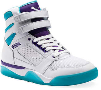 info for 4411f a44d8 Puma Men s Palace Guard Mid Queen City Sneakers
