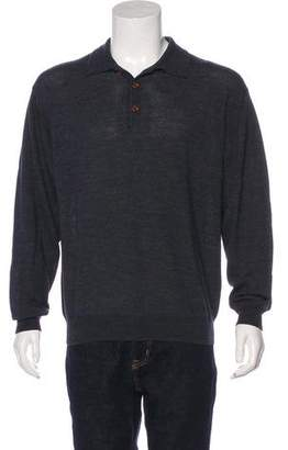 C.P. Company Wool Polo Sweater