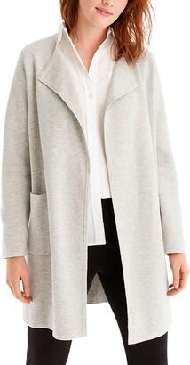 J.Crew Juliette Collarless Sweater Blazer