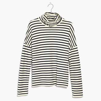 Madewell Sailor Stripe Turtleneck Top