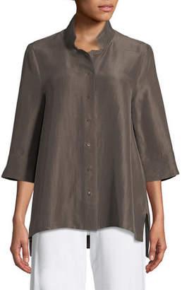 7fe81f0b7b9871 Eileen Fisher Women s Longsleeve Tops - ShopStyle