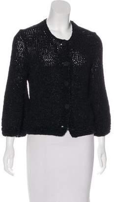 Chanel Silk Knit Cardigan