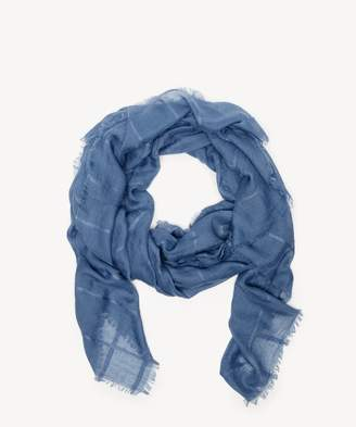 Sole Society Lightweight Window Pane Scarf