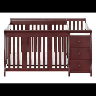 Stork Craft Storkcraft Portofino 4-in-1 Fixed Side Convertible Crib Changer