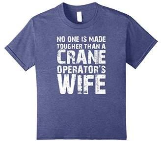 No Tougher Than Crane Operators Wife Shirt