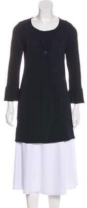 Diane von Furstenberg Solid Long Sleeve Tunic