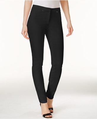 Alfani Rivet-Trim Skinny Pants, Created for Macy's $69.50 thestylecure.com