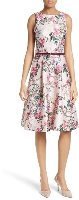 Women's Ted Baker London Clarbel Fit & Flare Dress $429 thestylecure.com
