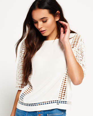 Superdry Diamond Lace Top