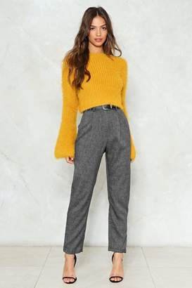 Nasty Gal Steel Magnolias High-Waisted Pants