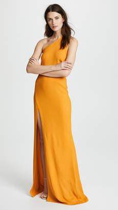 Michelle Mason Back Strap Gown