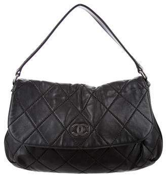 Chanel Quilted CC Flap Bag