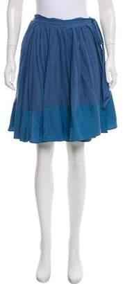 Chloé Wrap Mini Skirt