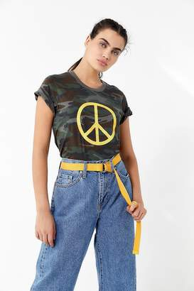 Truly Madly Deeply Camo Peace Tee