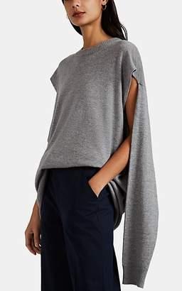 Maison Margiela Women's Wool-Cashmere Tunic Sweater - Light, Pastel gray