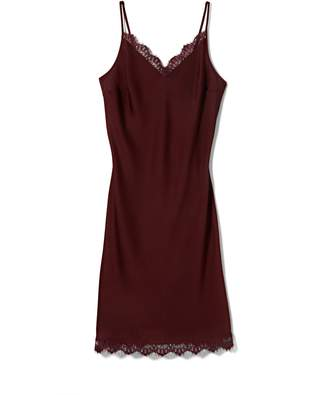 Vince Camuto Lace-Trimmed Slip Dress