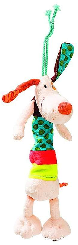 HABA Lilliputiens Jef Mini Dog Musical Plush Toy
