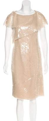 Chanel Sequin Midi Dress
