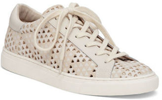 Lucky Brand Lotuss Lace-Up Sneakers $99 thestylecure.com