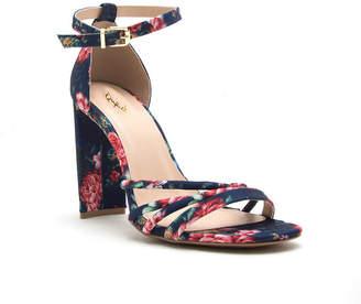 Qupid Womens Elsi-20 Heeled Sandals