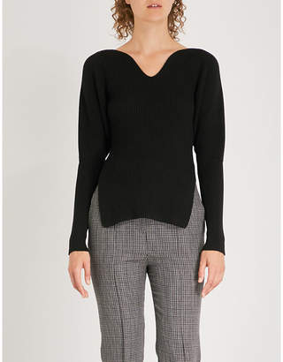 KHAITE Selena merino-wool jumper