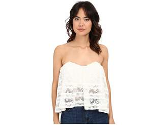 Free People Sydney Lace Tube Women's Blouse
