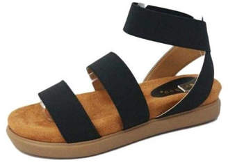 Bamboo Ankle Strap Sandal