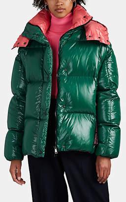 Moncler Women's Parana Oversized Down Puffer Jacket - Green